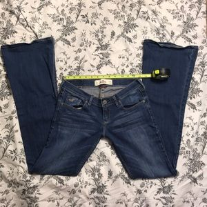 Hollister Low Rise Flare Jeans